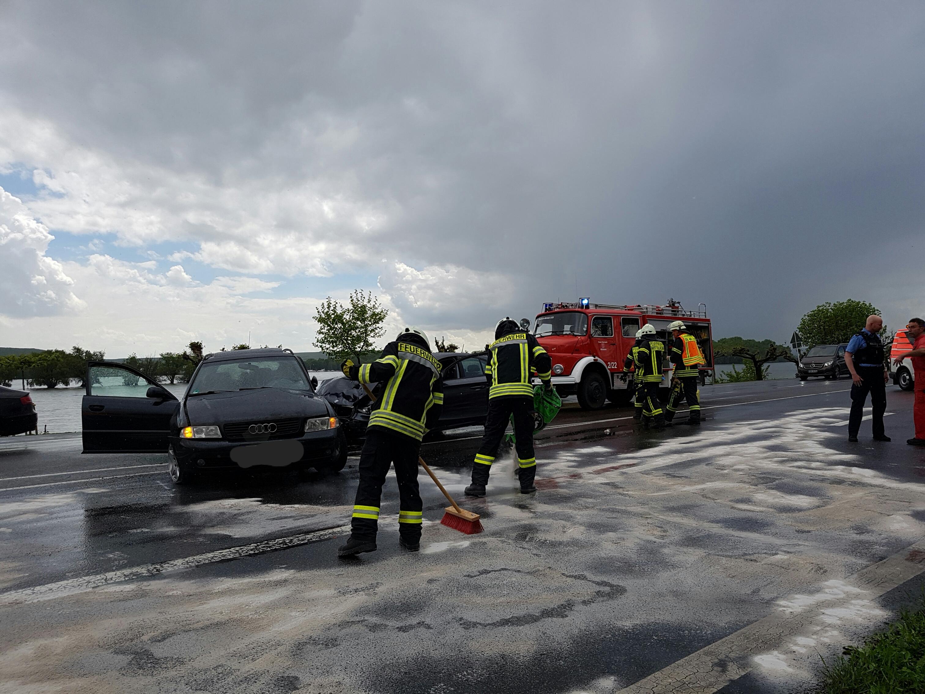 Verkehrsunfall Mittelheim 12.05.17